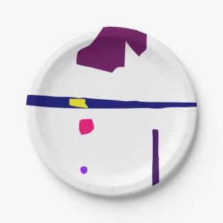 Minimalism Paper Plate