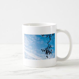 Minimalism photograph basic white mug