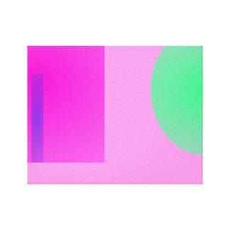 Minimalism Pink Canvas Prints
