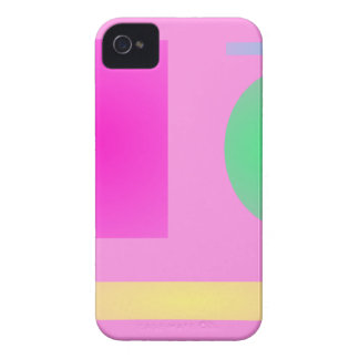 Minimalism Pink iPhone 4 Cases