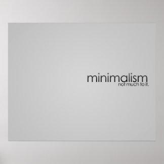 Minimalism Posters