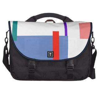 Minimalism Red Strip Customizable Bag For Laptop