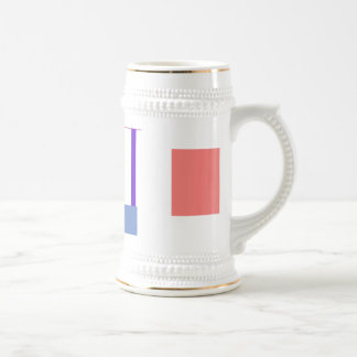 Minimalism Red Strip Customizable Mugs