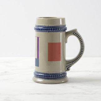 Minimalism Red Strip Customizable Mug