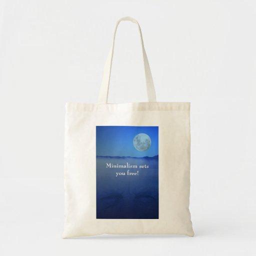 Minimalism sets you free! bag