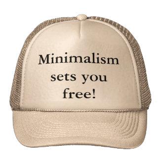 Minimalism sets you free! hat
