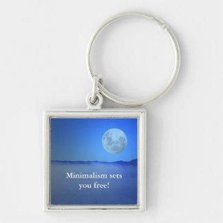 Minimalism sets you free! keychain