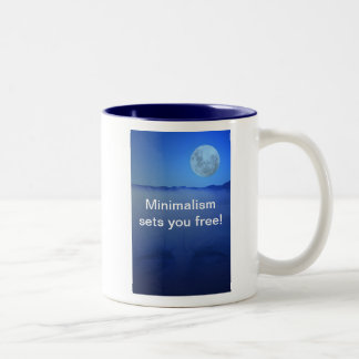 Minimalism sets you free! Mug