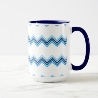 Minimalism snow mountains pattern mug