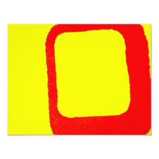 Minimalist Abstract 11 Cm X 14 Cm Invitation Card