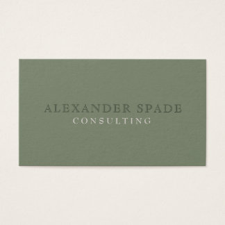 Minimalist and Timeless: The Bookkeeper's Card