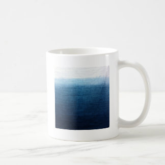 Minimalist Approach 2 Indigo Coffee Mug