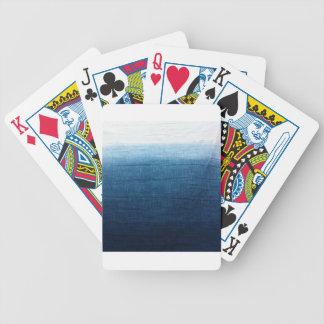 Minimalist Approach 2 Indigo Poker Deck