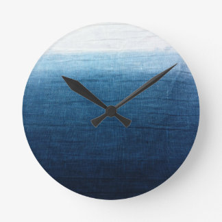 Minimalist Approach 2 Indigo Wall Clock