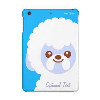 Minimalist Bichon Frise Kawaii Dog Cartoon