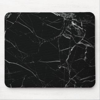 Minimalist Black Marble Mouse Pad