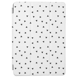 Minimalist Black & White Pattern iPad COver