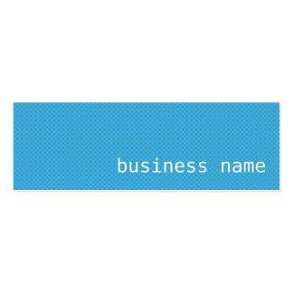 Minimalist Blue Business Card