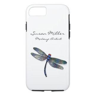 Minimalist Blue Dragonfly iPhone 8/7 Case