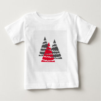 Minimalist Christmas Trees Baby T-Shirt