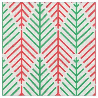 Minimalist Christmas Trees Fabric