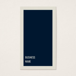 Minimalist Clean Blue Grey Consultant Business Card