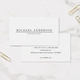 Minimalist Elegant Business Card