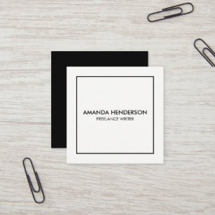 elegant office supplies. Minimalist Elegant Professional Square Business Card Elegant Office Supplies