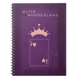 Minimalist Fairy Tales | Alice in Wonderland Notebook