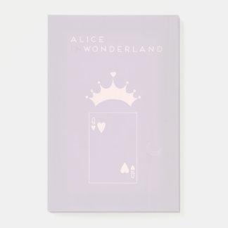 Minimalist Fairy Tales | Alice in Wonderland Post-it Notes