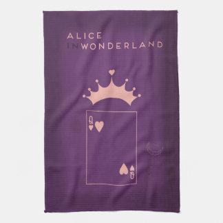 Minimalist Fairy Tales | Alice in Wonderland Tea Towel