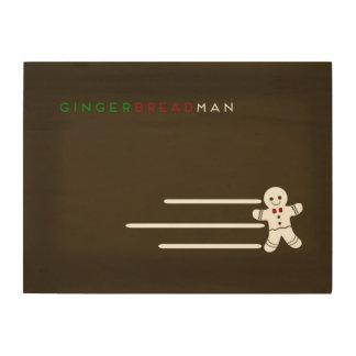 Minimalist Fairy Tales | Gingerbread Man Wood Wall Decor