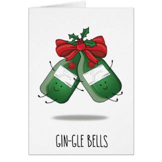 Minimalist Gin-gle Bells | Gin & Tonic Xmas Cards