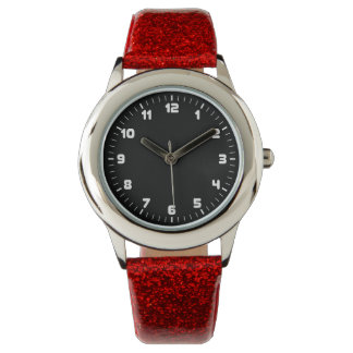 Minimalist Glitter Watch