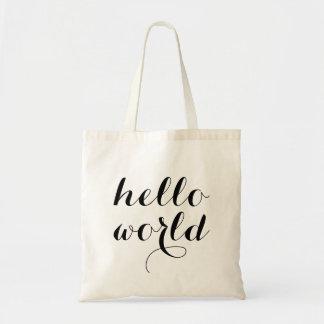 Minimalist Hello World