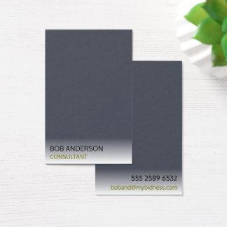Minimalist Indigo Ivory Smoky Mist Consultant Business Card