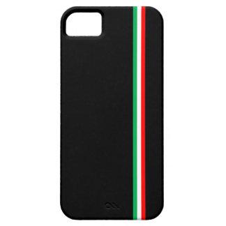 Minimalist Italian Flag Design Case For The iPhone 5