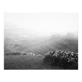 Minimalist landscape 21.5 cm x 28 cm flyer