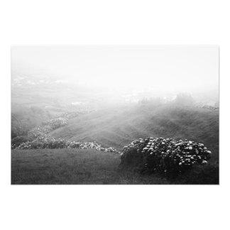 Minimalist landscape photo art