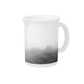 Minimalist landscape drink pitchers