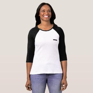 Minimalist Millennial, 3/4 Sleeve Raglan T-Shirt. T-Shirt