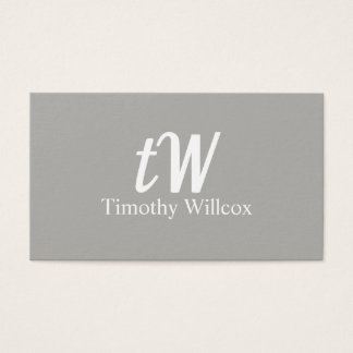 Minimalist Modern Elegant design Business Card