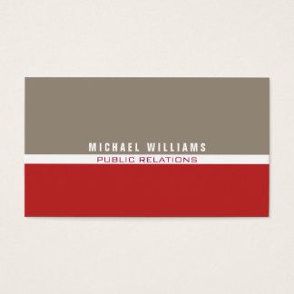 MINIMALIST MODERN ELEGANT METAL PROFESSIONAL BUSINESS CARD
