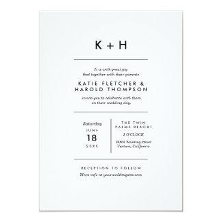Minimalist Photo Wedding 13 Cm X 18 Cm Invitation Card