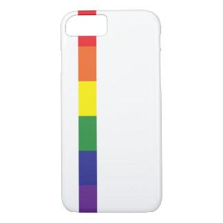 Minimalist Pride Flag iPhone 8/7 Case