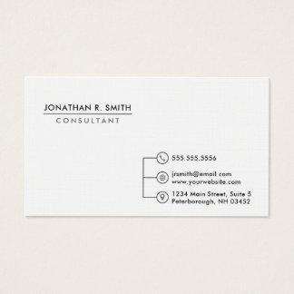 Minimalist Professional Business Card