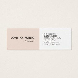 Minimalist Professional Simple Elegant Modern Mini Business Card