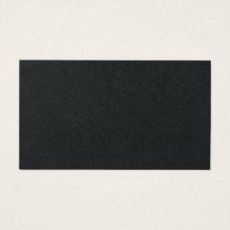 Minimalist simple elegance business card