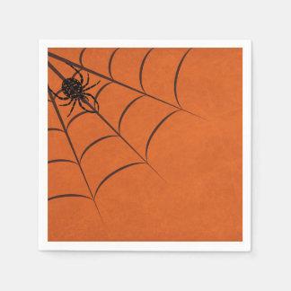 Minimalist Spider Web Disposable Serviettes