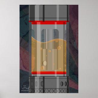 Minimalist sub tank poster